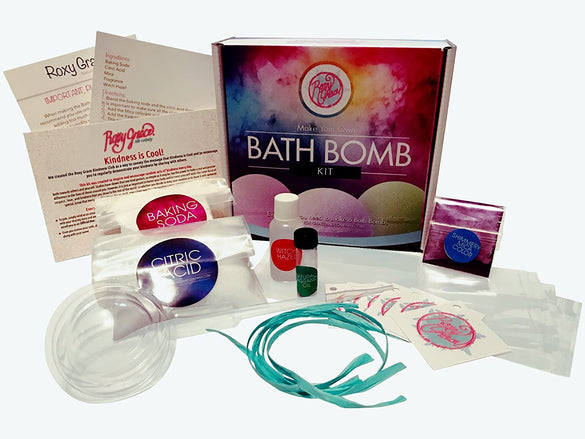 DIY Bath Bomb Kit - Blue