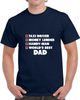 Worlds Best Dad Check List - Navy T Shirt - B Inspired Boutique