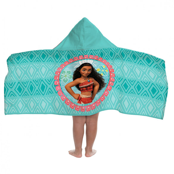 Disney Moana Cape Hooded Towel - B Inspired Boutique