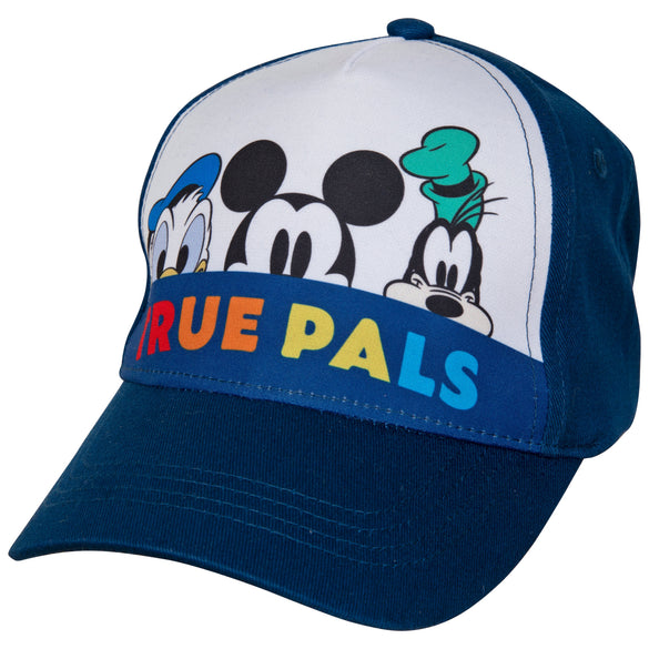 Mickey Mouse and Friends Peek-A-Boo Baseball Hat