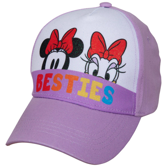 Minnie Mouse and Daisy Peek-A-Boo Baseball Hat