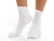 V-Toe Flip Flop Tabi Socks - White Solid Casual