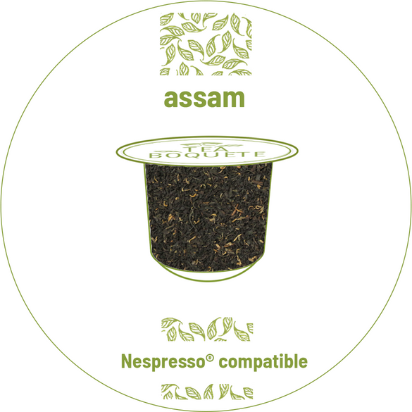 Assam black tea pods