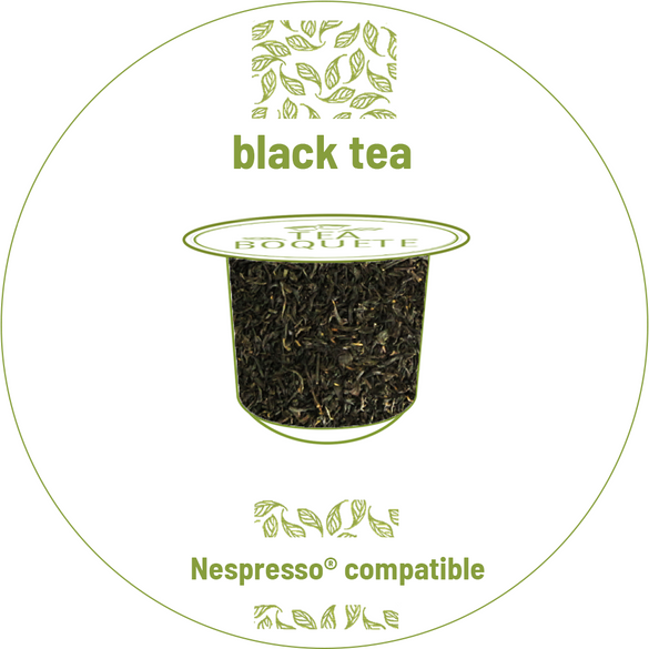 Black tea pods