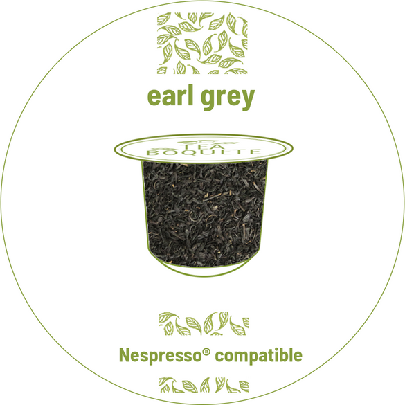 Earl grey black tea pods