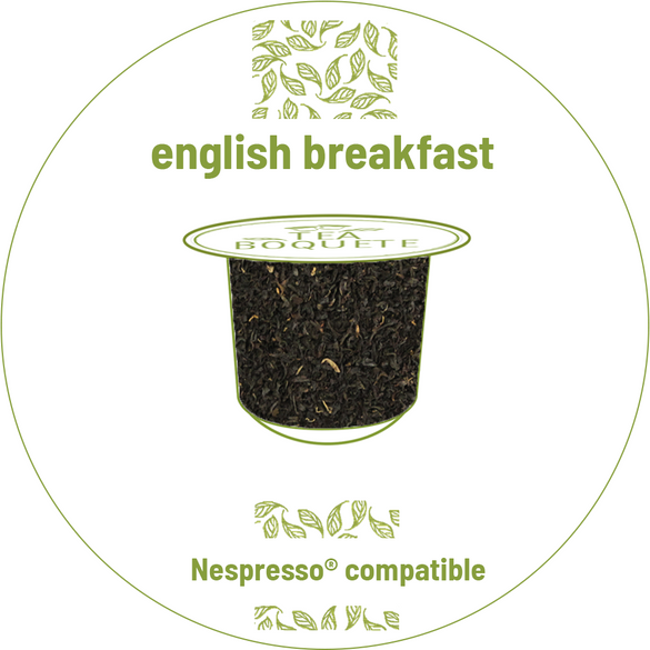 English breakfast black tea pods