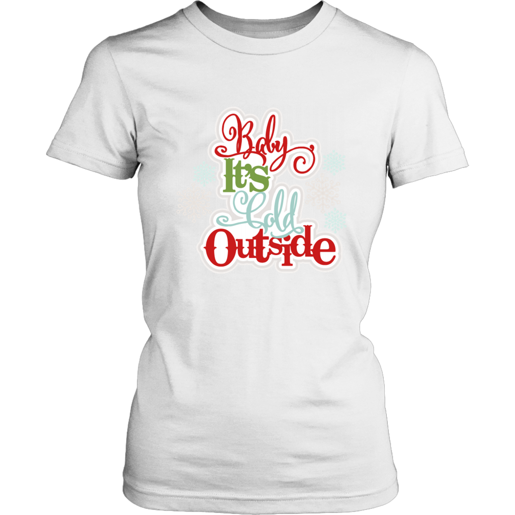 Baby It's Cold Outside Ladies Tee - 3 Colors - B Inspired Boutique