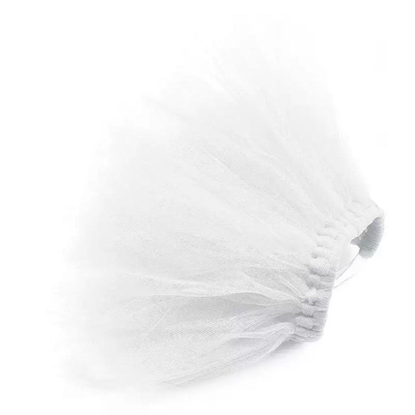 White Bridal Pet Tutu Skirt | XS-XXXL - B Inspired Boutique