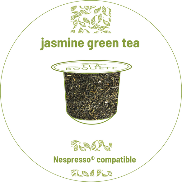 Jasmine green tea pods