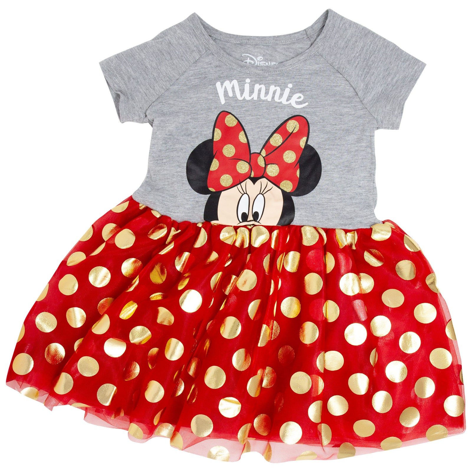 Minnie Mouse Bow Tie Youth Dress