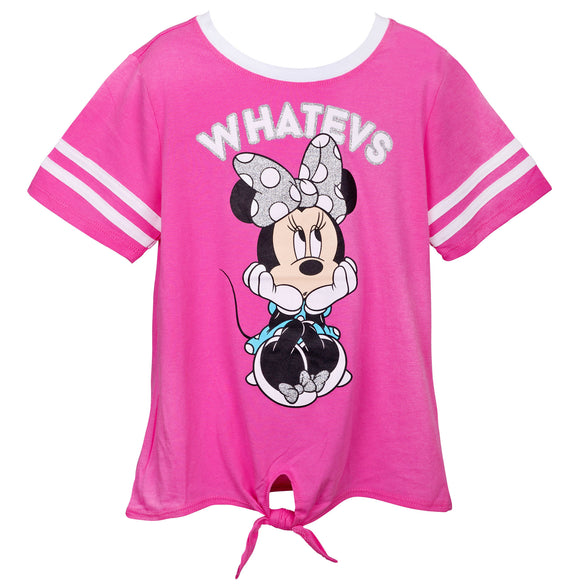 Minnie Mouse Whatevs Youth T-Shirt - B Inspired Boutique