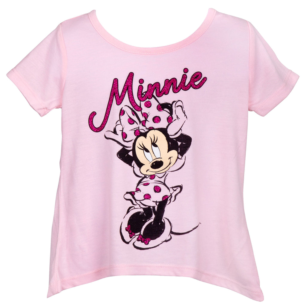 Minnie Mouse Pink Youth T-Shirt - B Inspired Boutique