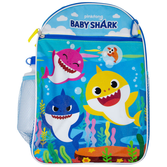 Baby Shark Backpack 5-Piece Combo Set