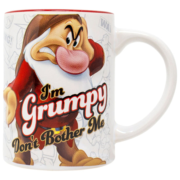 Snow White Grumpy Don't Bother Me 14 Ounce Mug