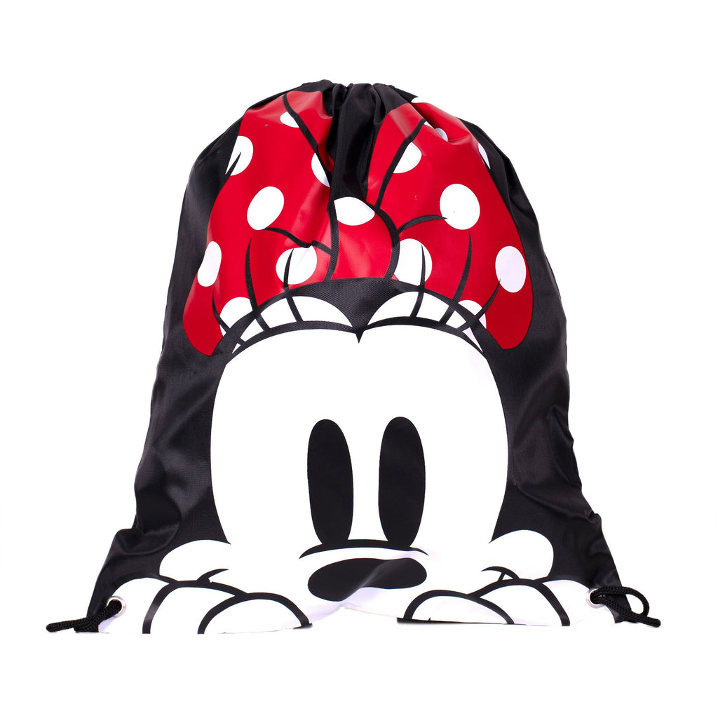 Minnie Mouse Head Drawstring Backpack - B Inspired Boutique
