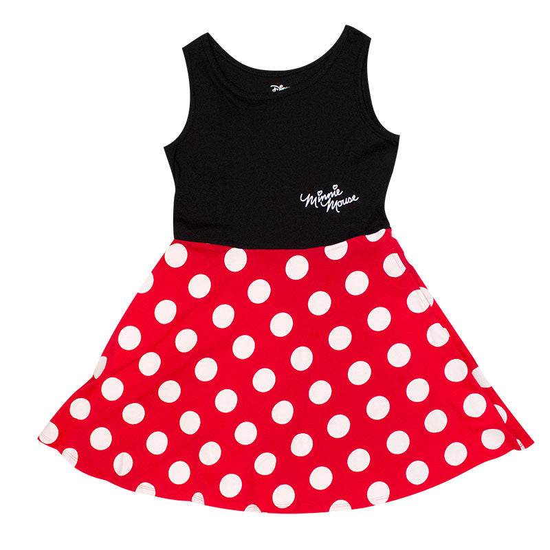 Minnie Mouse Red Polka Dot Dress - B Inspired Boutique