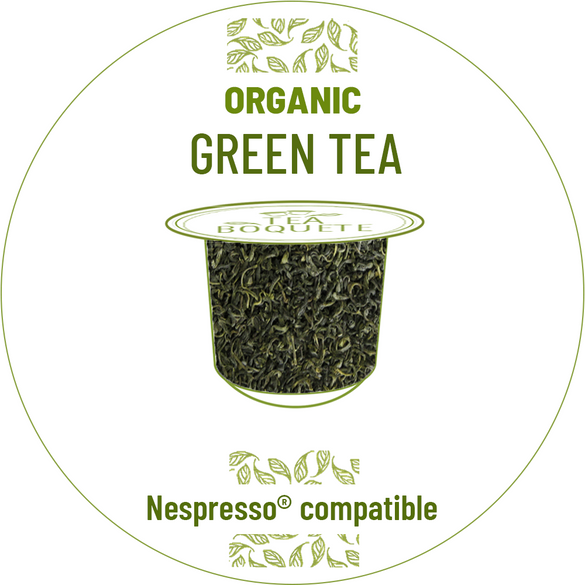 Organic Green tea pods