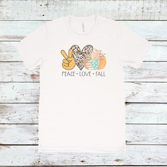 Peace Love Fall Tee