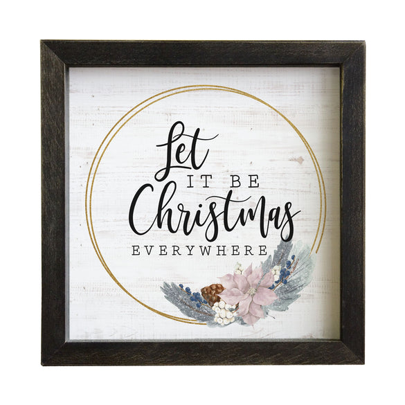 Rustic Frames - Let It Be Christmas