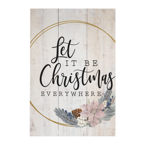 Rustic Pallets - Let It Be Christmas