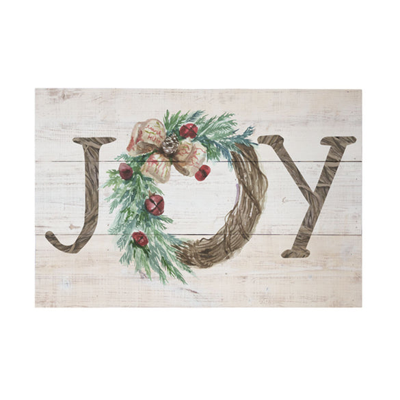 Rustic Pallets - Joy Wreath