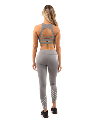 Laguna Sports Bra - Grey - B Inspired Boutique