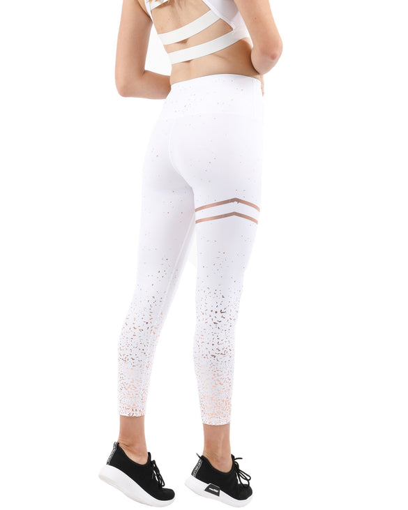 Pescara Thermal Legging - White - B Inspired Boutique