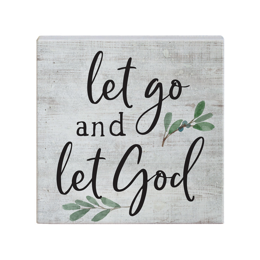 Square Talk - Let Go Let God