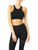 Ashton Set - Sports Bra & Leggings - Black - B Inspired Boutique