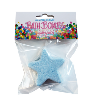 Star Bath Bomb - Blue
