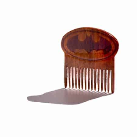 Batman Wooden Beard Comb