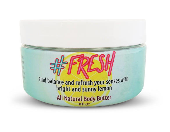#Fresh Body Butter