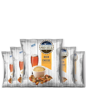 BEER CHEESE SNACK PACK BEER PRETZELS 4OZ (PACK OF 6)