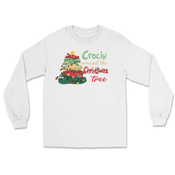 Crocin Around The Christmas Tree Long Sleeve