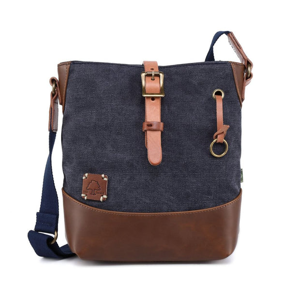 Redwood Canvas Crossbody Bag