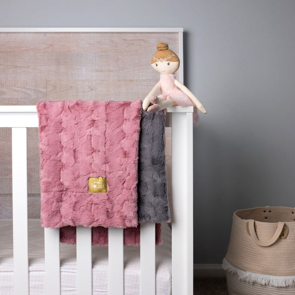 MICO FAUX FUR BABY BLANKET