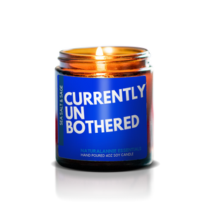 Currently Unbothered Soy Candle - Sea Salt & Sage