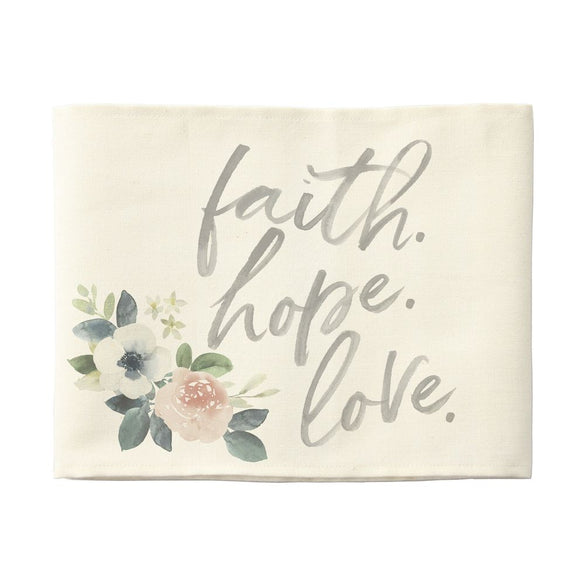 Pillow Hugs - Faith Hope Love
