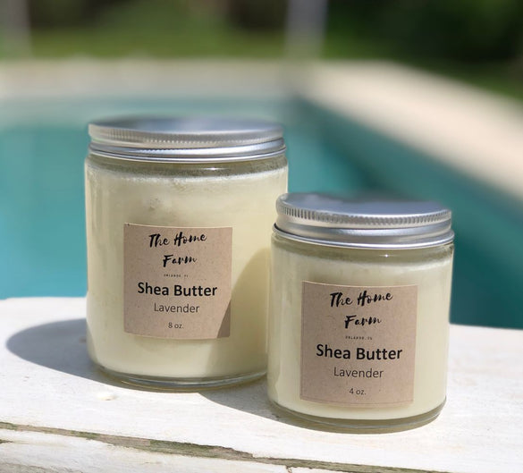 Organic Shea Butter with Lavender