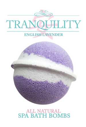 Tranquility Spa Bomb - English Lavender