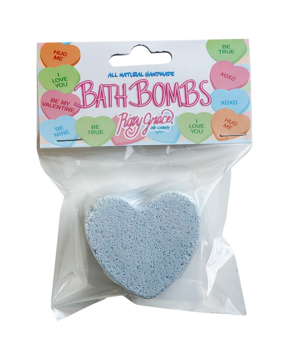 LG Heart Bath Bomb - blue - Love Collection