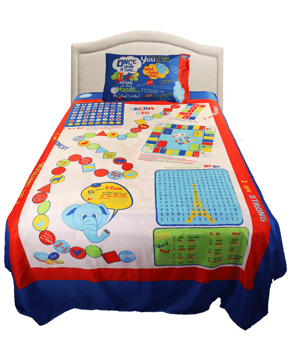 Playtime Bed Sheets - Blue - B Inspired Boutique