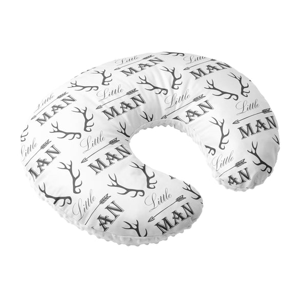 Nursing Pillow Cover - Little Man