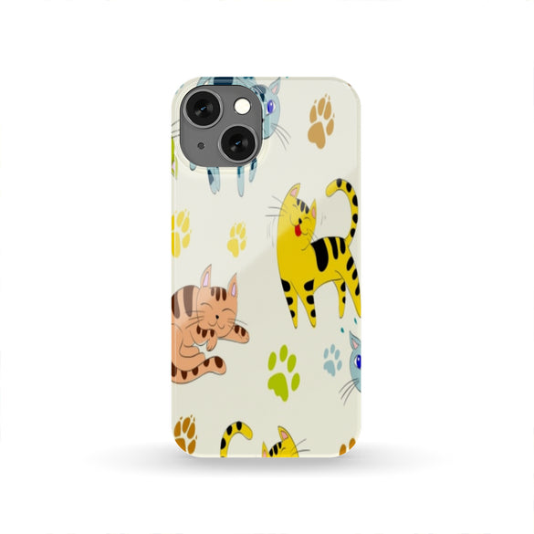 Cat Craze Cell Phone Slim Case