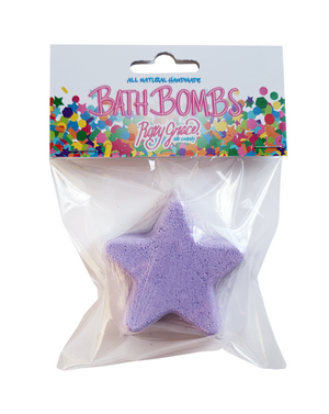 Star Bath Bomb-Purple