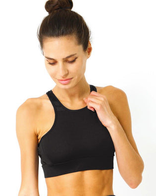 Ashton Sports Bra - Black - B Inspired Boutique