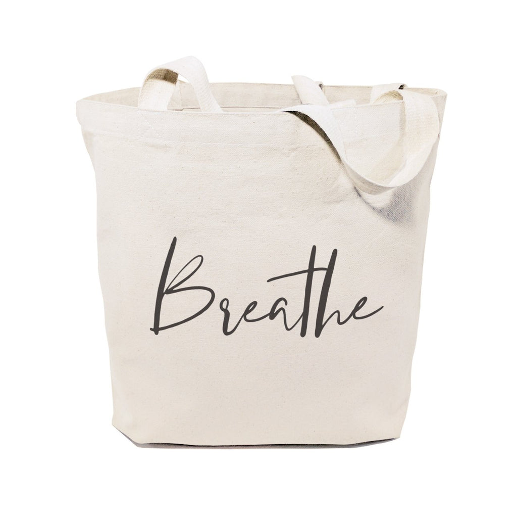 Breathe Gym Cotton Canvas Tote Bag