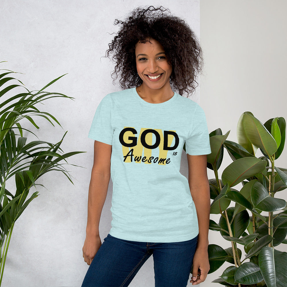 My God is Awesome Ladies Tee