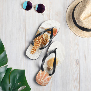 Sea Shells in the Sand Flip-Flops - B Inspired Boutique
