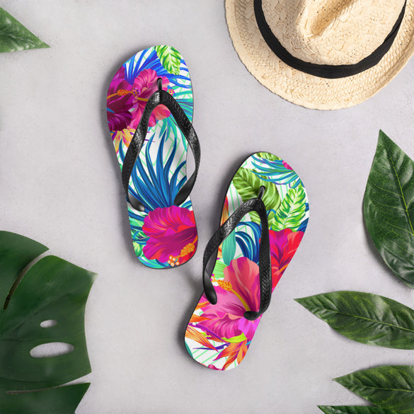 Tropical Breeze Flip-Flops - B Inspired Boutique